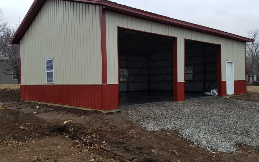 30′ x 40′ Building in Sibley Missouri