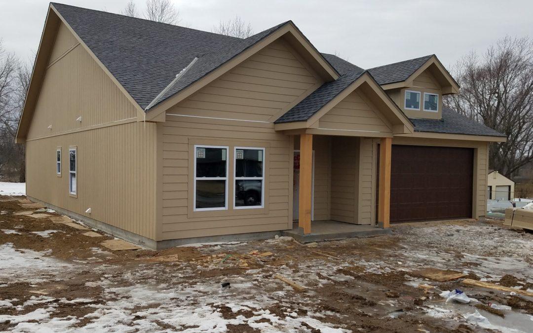 Framed Two 1,600 Square Foot Slab Homes